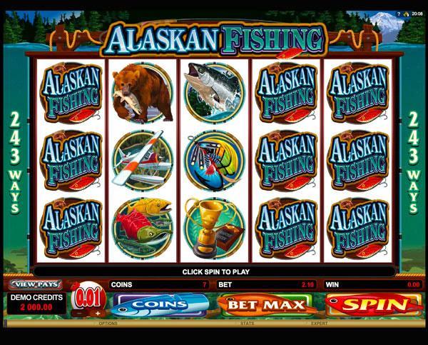 Грати Безкоштовно або на Гроші в Гральний Автомат Alaskan Fishing