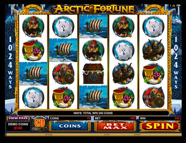 Грати Безкоштовно або на Гроші в Гральний Автомат Arctic Fortune