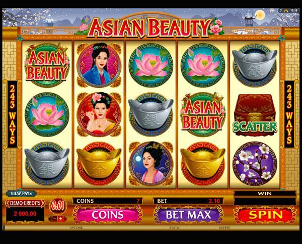 Грати Безкоштовно або на Гроші в Гральний Автомат Asian Beauty