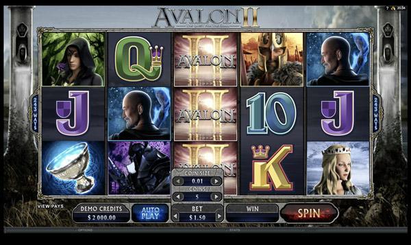 Играть Бесплатно или на деньги в игровые автоматы Авалон 2