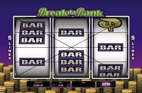 Грати Безкоштовно або на Гроші в Гральний Автомат Break Da Bank