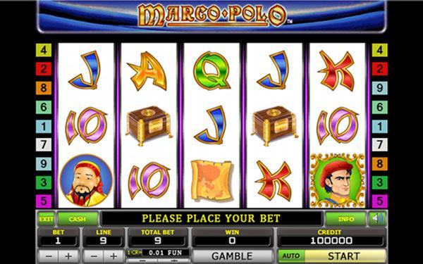 Грати Безкоштовно або на Гроші в Гральний Автомат Марко Поло