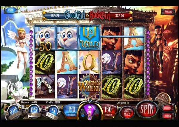 Играть Бесплатно или на деньги в игровые автоматы Good Girl Bad Girl