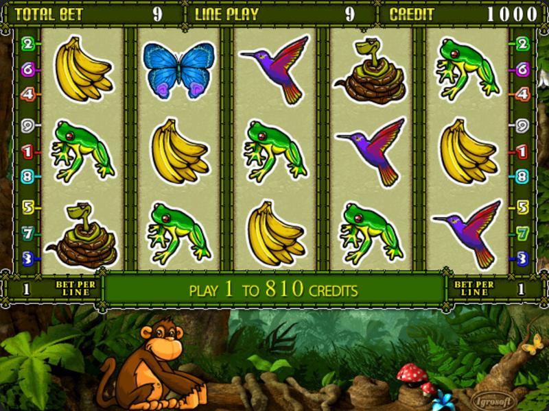 Играть Бесплатно или на деньги в игровые автоматы Crazy Monkey 2