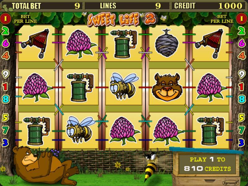 Играть Бесплатно или на деньги в игровые автоматы Sweet Life 2