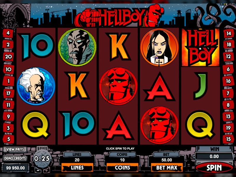 Грати Безкоштовно або на Гроші в Гральний Автомат Hellboy
