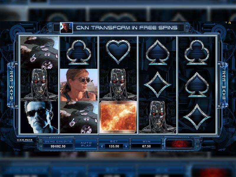 Грати Безкоштовно або на Гроші в Гральний Автомат Terminator 2