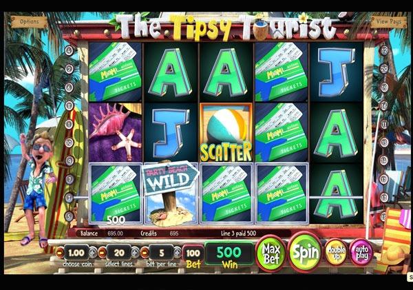 Грати Безкоштовно або на Гроші в Гральний Автомат The Tipsy Tourist