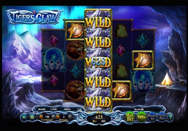 Грати Безкоштовно або на Гроші в Гральний Автомат Tigers Claw