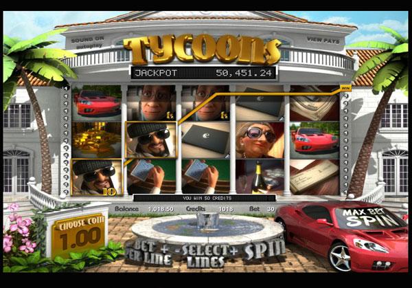 Грати Безкоштовно або на Гроші в Гральний Автомат Tycoons