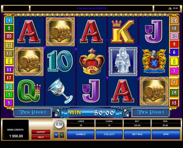 Грати Безкоштовно або на Гроші в Гральний Автомат Avalon