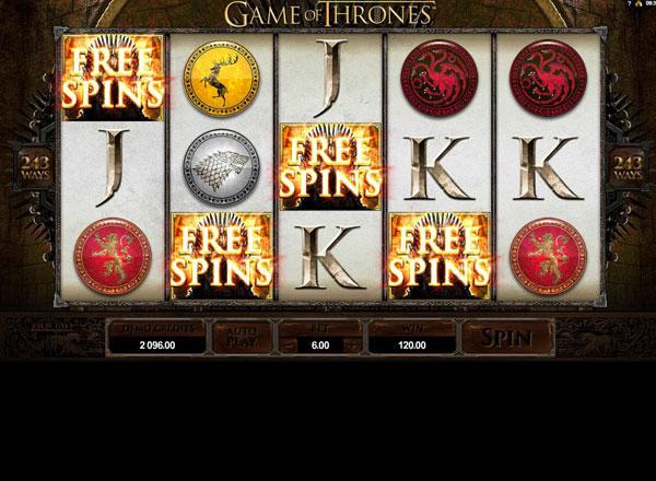 Играть Бесплатно или на деньги в игровые автоматы Game Of Thrones