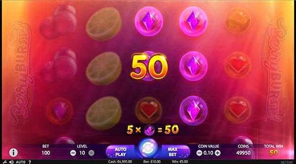Играть Бесплатно или на деньги в игровые автоматы Berryburst