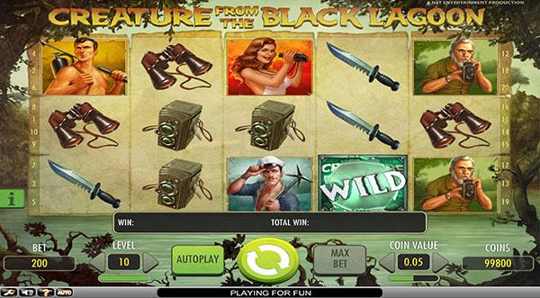 Играть Бесплатно или на деньги в игровые автоматы Creature From The Black Lagoon
