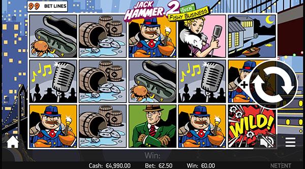 Грати Безкоштовно або на Гроші в Гральний Автомат Jack Hammer 2
