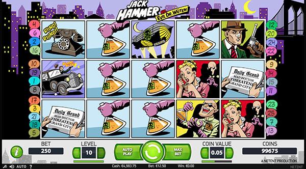 Грати Безкоштовно або на Гроші в Гральний Автомат Jack Hammer