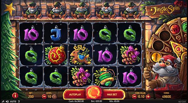 Играть Бесплатно или на деньги в игровые автоматы Jingle Spin