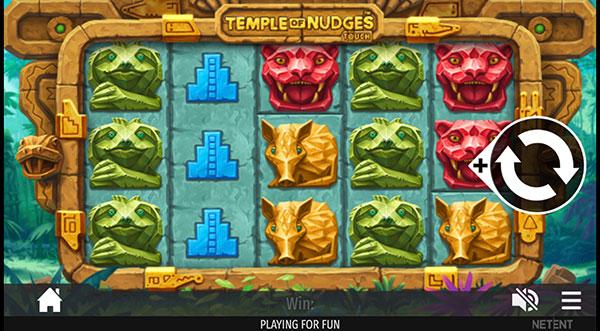 Грати Безкоштовно або на Гроші в Гральний Автомат Temple Of Nudges