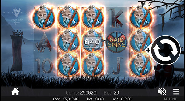 Грати Безкоштовно або на Гроші в Гральний Автомат Vikings